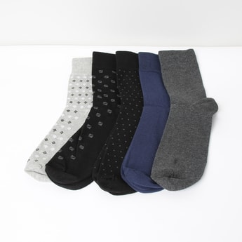 MAX Patterned Socks - Set of 5