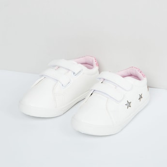 MAX Shimmery Shoes with Velcro Closure