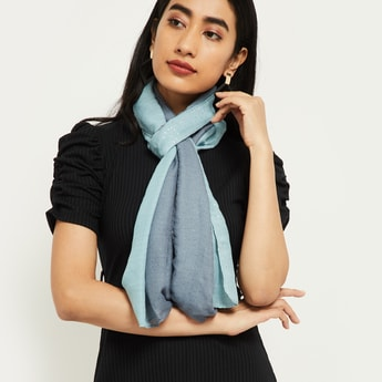 MAX Textured Ombre-Dyed Scarf