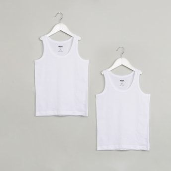MAX Solid Sleeveless Vest