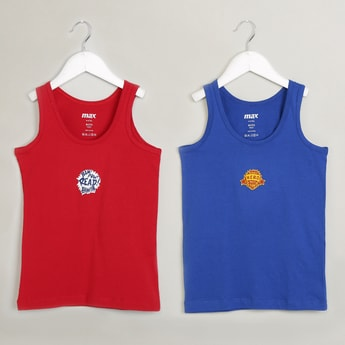 MAX Pack Of 2 Printed Vests