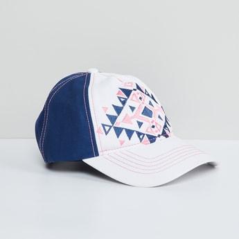 MAX Geometric Embroidered Cap