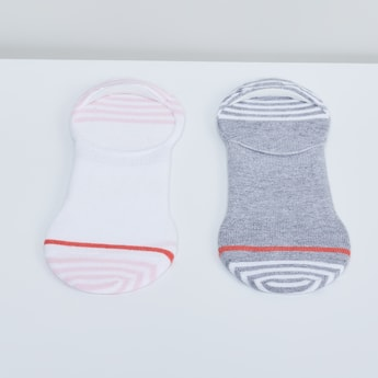 MAX Striped Knitted Footlet- Set of 2 pcs.