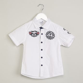 MAX Embroidered Short Sleeve Shirt