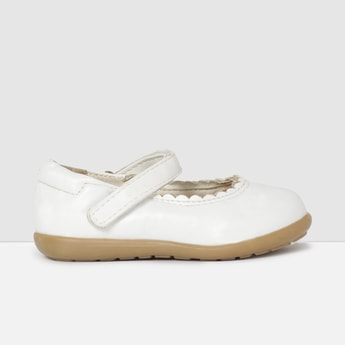 MAX Mary Janes with Scalloped Trim
