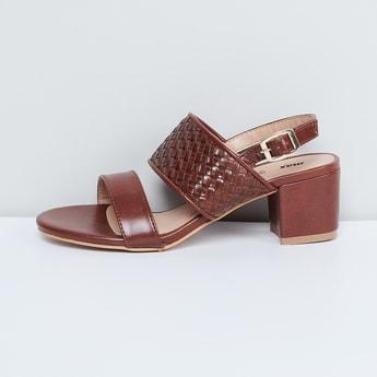 MAX Textured Block Heels