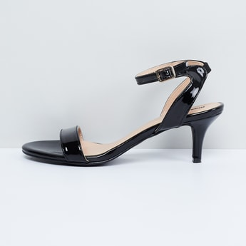 MAX Ankle-Strap Cone Heels