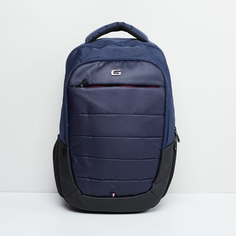 MAX Panelled Detail Backpack