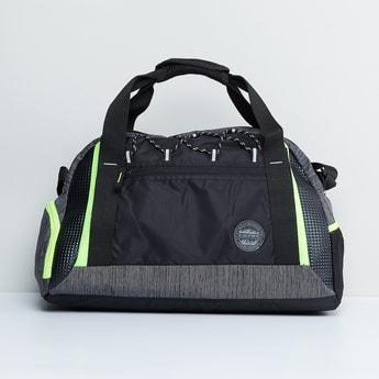 MAX Textured Zip Closure Gym Bag