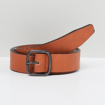 MAX Solid Leather Formal Belt