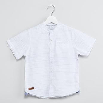 MAX Striped Short Sleeves Shirt