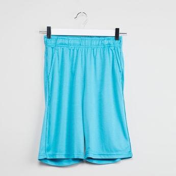 MAX Solid Elasticized Waist Culottes