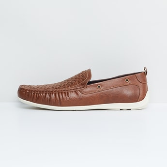 MAX Basket Weave Loafers