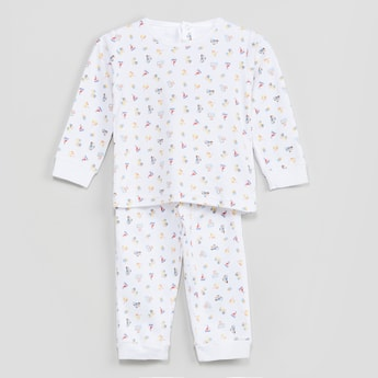 MAX Printed Night Suit- Set of 2 Pcs.