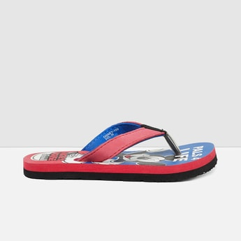 MAX Mickey Mouse Print Flip-Flops