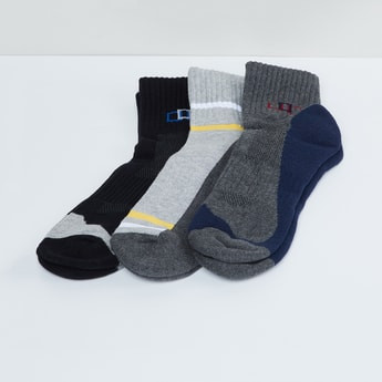 MAX Colourblock Sports Socks - Pack of 3 Pcs.