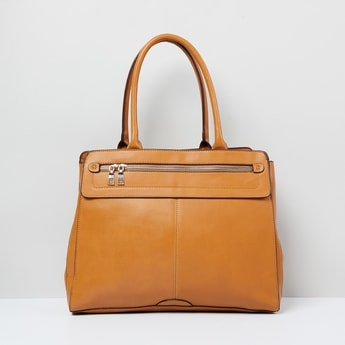 MAX Solid Trapeze Handbag
