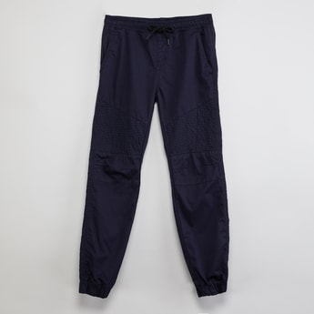 MAX Solid Panelled Joggers