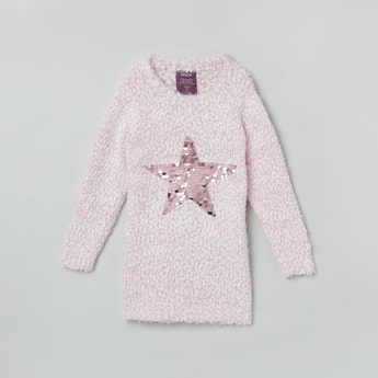 MAX Embellished Full Sleeves Sweater