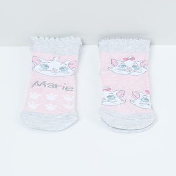 MAX Woven Design Socks - Pack of 2 - 2-4Y