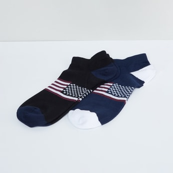 MAX Printed Ankle Socks - Pack of 2