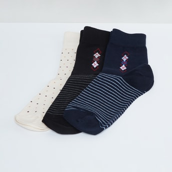 MAX Printed Socks - Pack of 3c Pcs.