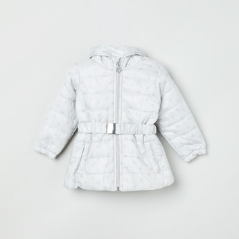 MAX Quilted Cinched Waist Jacket