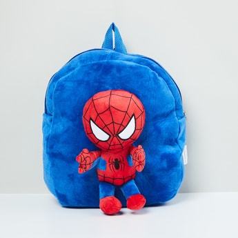 MAX Textured Spiderman Backpack