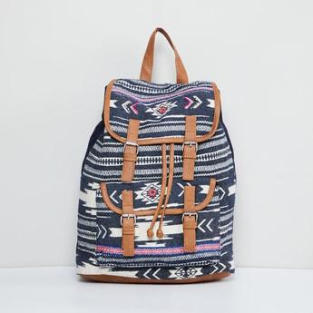 MAX Printed Jacquard Backpack