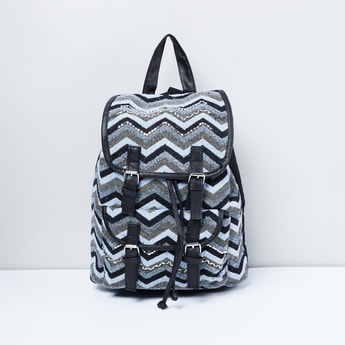 MAX Chevron Print Backpack