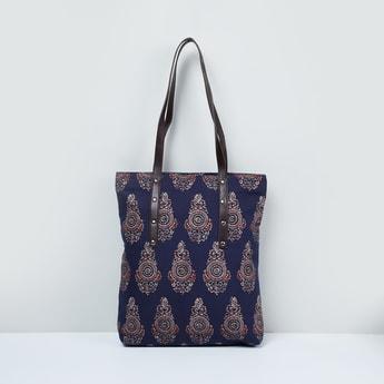 MAX Floral Print Tote Bag