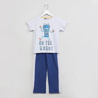 MAX Printed T-shirt with Pants