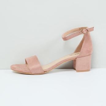 MAX Ankle-Strap Block Heels