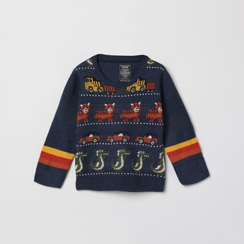 MAX Jacquard Patterned Sweater