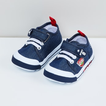 MAX Applique Velcro Strap Shoes