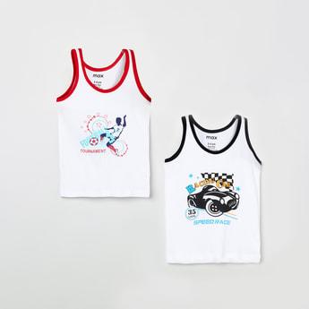 MAX Printed Vest- Pack of 2