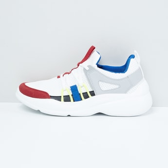 MAX Colourblocked Lace-Up Shoes