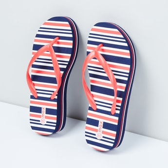 MAX Striped V-strap Flip-Flops