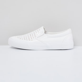 MAX Laser Cut Slip-On Casual Shoes