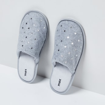 MAX Textured Slip-On Slippers