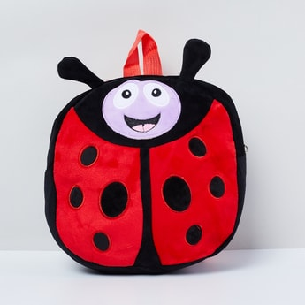 MAX Lady Bug Patterned Embroidered Backpack