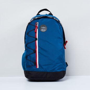 MAX Solid Zip-Closure Laptop Bag
