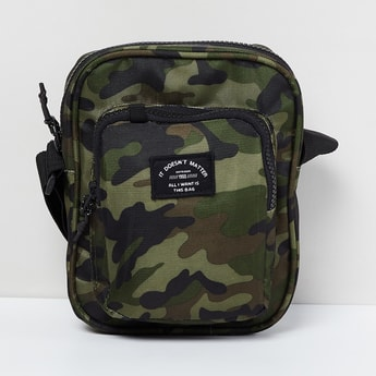 MAX Camouflage Print Sling Bag