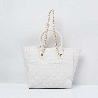 MAX Textured Handheld Bag