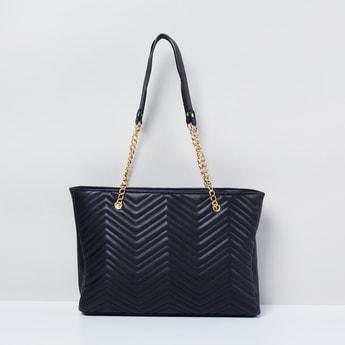 MAX Chevron Texture Tote Bag