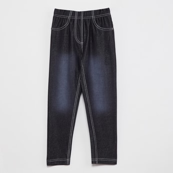 MAX Stonewashed Slim Fit Jeggings