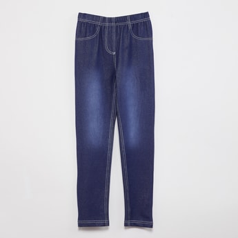MAX Stonewashed Skinny Fit Jeggings
