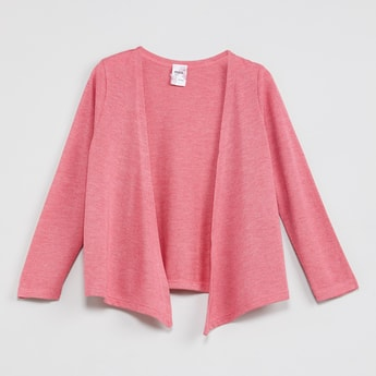 MAX Heathered Short Shrug