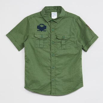 MAX Embroidered Short Sleeves Shirt