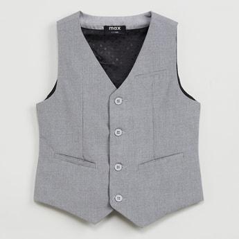MAX Melange Sleeveless Waistcoat